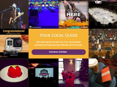 Sioux Falls CVB website