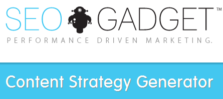 Content Strategy Generator